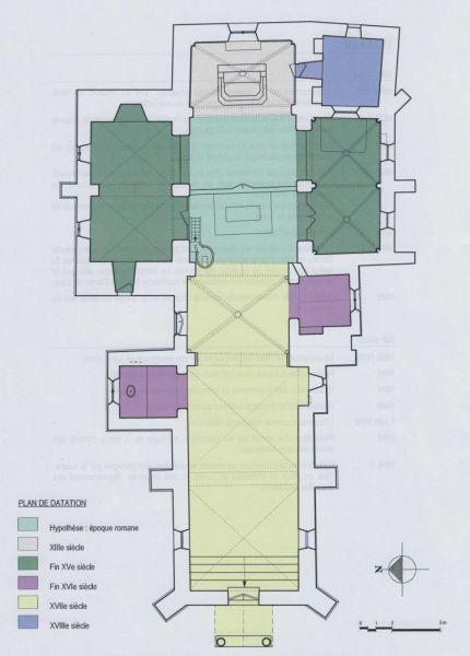 Plan de l'église