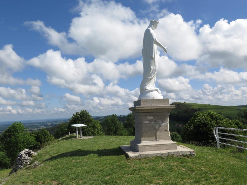 Belvédère de la Madone à Saint-Laurent-la-Roche (Jura)